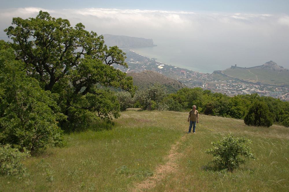 Гора Перчем в Судаке